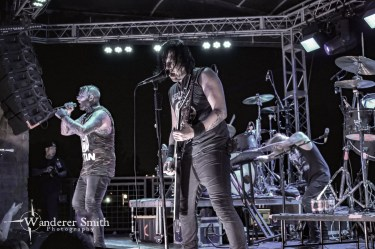 Combichrist @ Gas Monkey Bar n' Grill, Dallas, TX. Photo by Corey Smith.