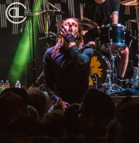 Deafheaven @ Gas Monkey Bar n' Grill, Dallas, TX. Photo by DeLisa McMurray.