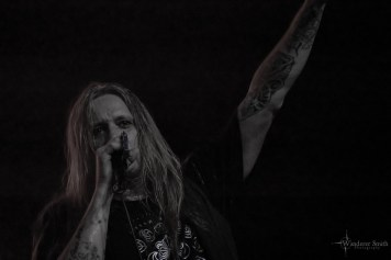 Sebastian Bach @ Canton Hall, Dallas, TX. Photo by Corey Smith.