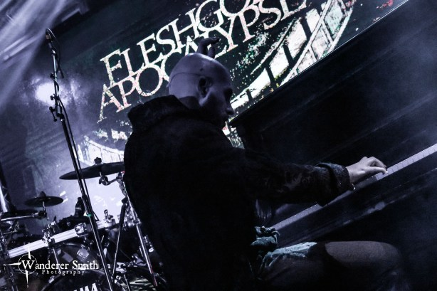 Fleshgod Apocalypse @ Gas Monkey Bar n' Grill. Photo by Corey Smith.