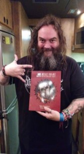Max Cavalera of Soulfly contributed the Foreward to And Justice for Art Vol. 2