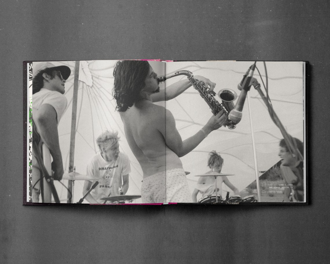 Melodic Virtue - Butthole Surfers Book Spread 2