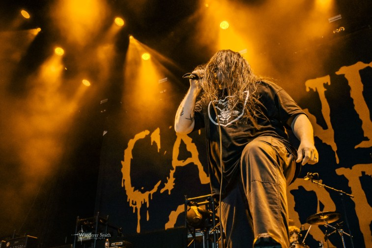 Cannibal Corpse @ The Pavilion at Toyota Music Factory, Irving, TX. Photo by Corey Smith.