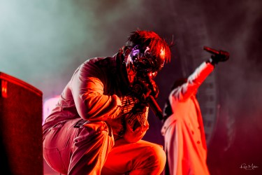 Slipknot @ Dos XX Pavilion, Dallas, TX. Photo by Robb Miller.