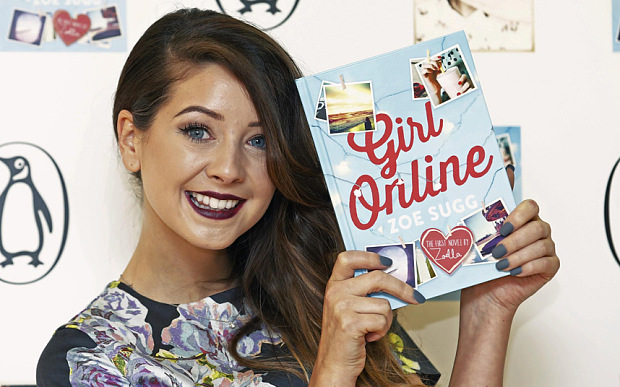 , Zoella writing Girl Online 2 without ghostwriter