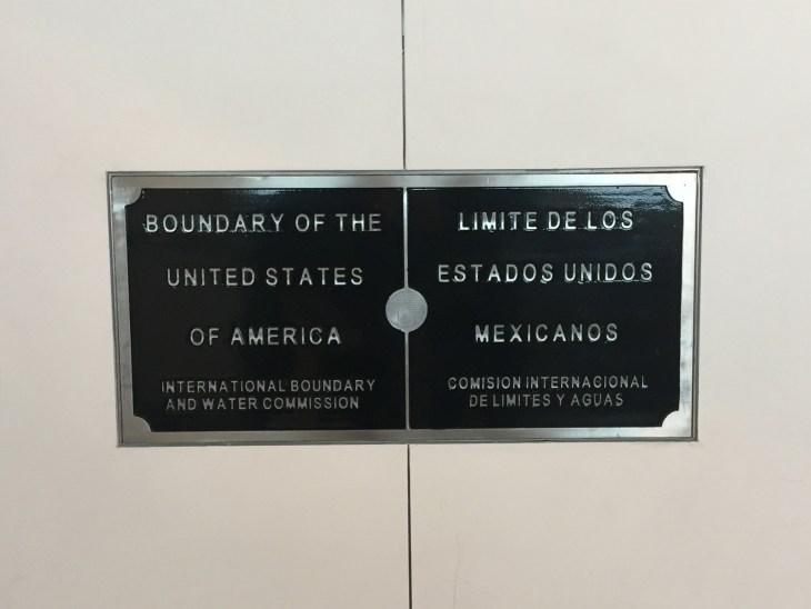 The border line in the CBX bridge