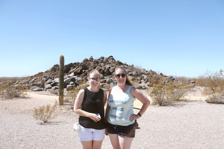 steph and i at petroglyphs