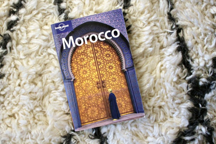 Morocco Lonely Planet Book