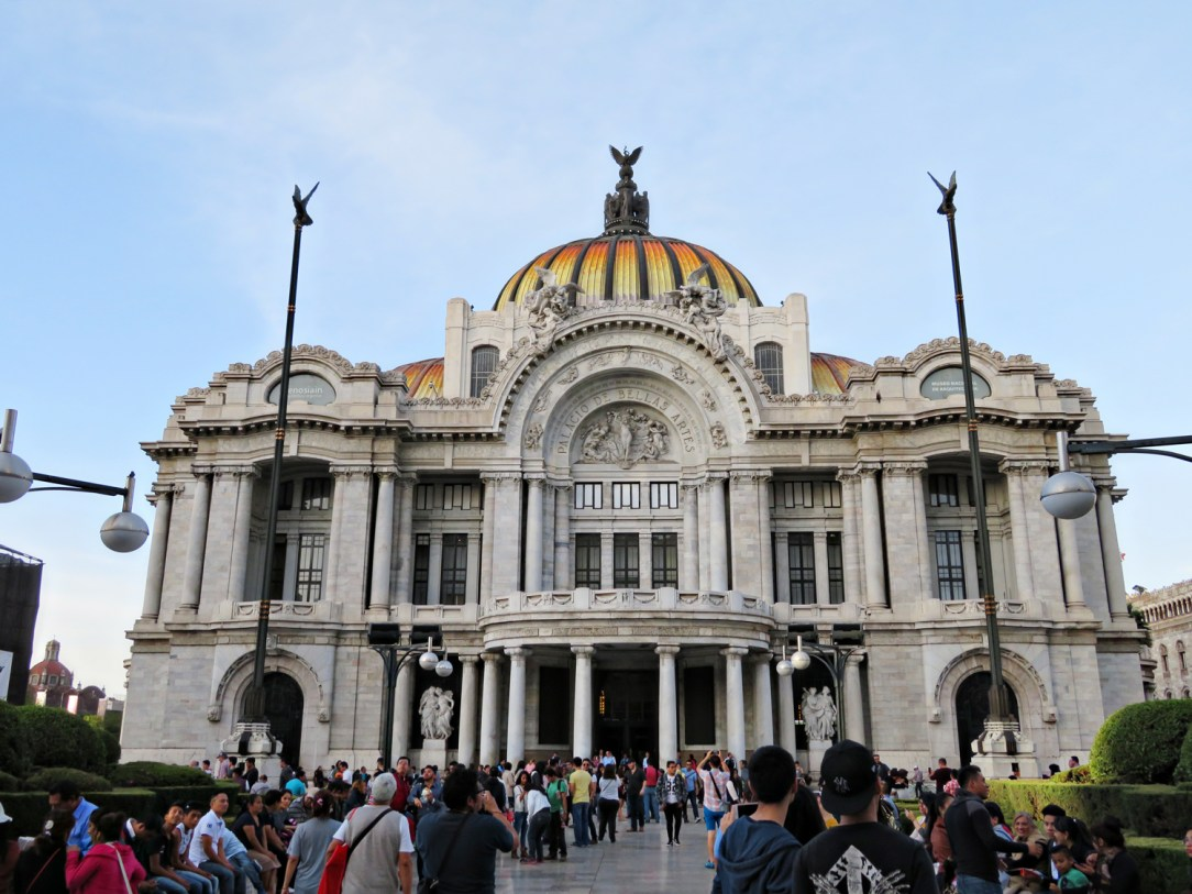 Palacio de Bellas Artes in Mexico City