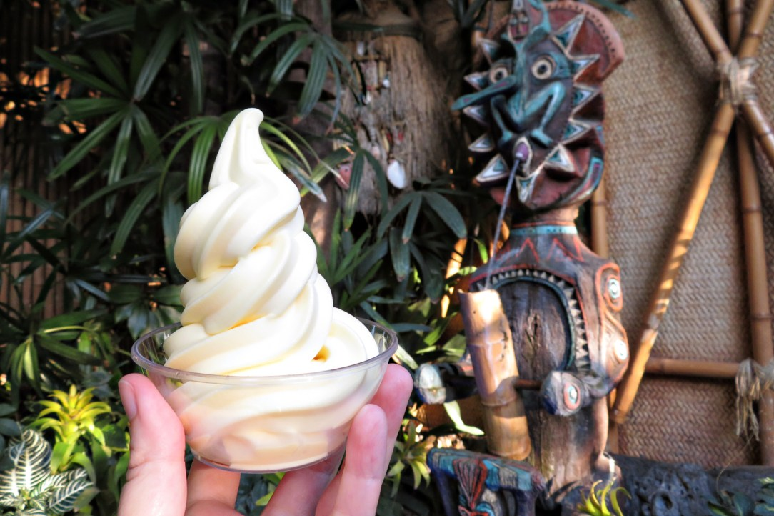 Dole whip is a classic Disneyland food
