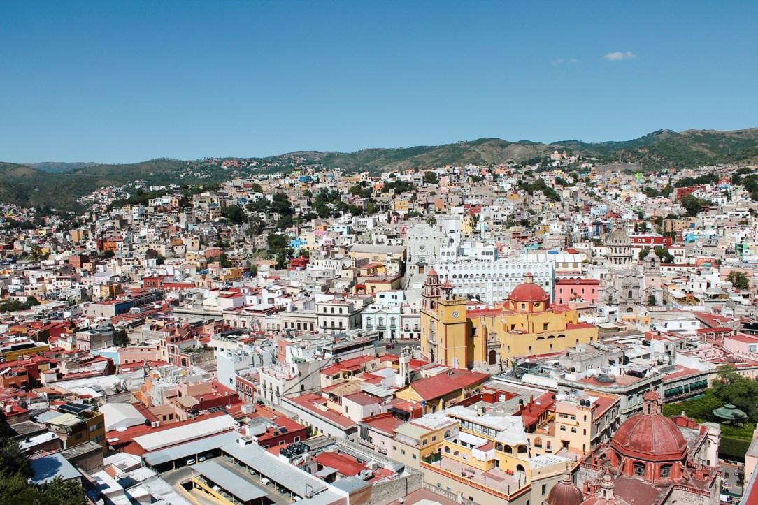 Guanajuato from El Pipila