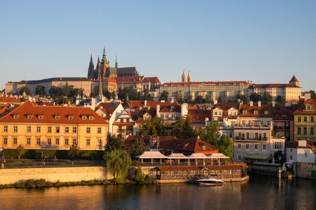 Prague Morning by Roman Boed