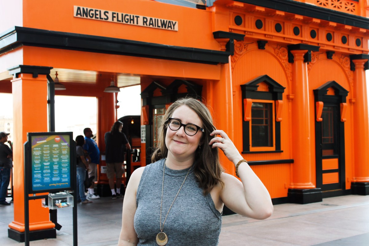 Angels Flight in Downtown L.A.
