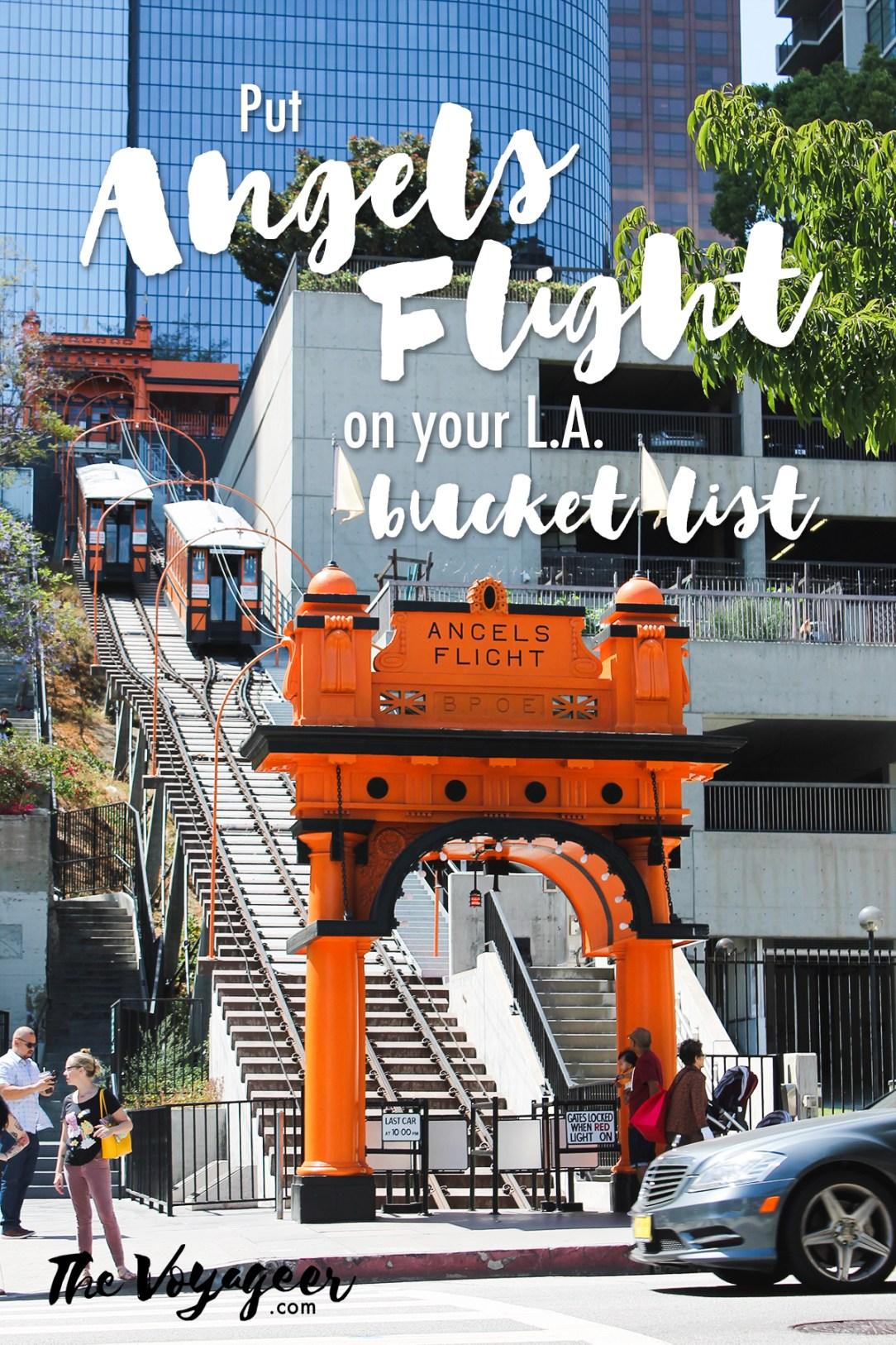 Visit Angels Flight in L.A.