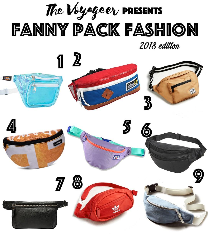 Fanny Pack Fashion 2018