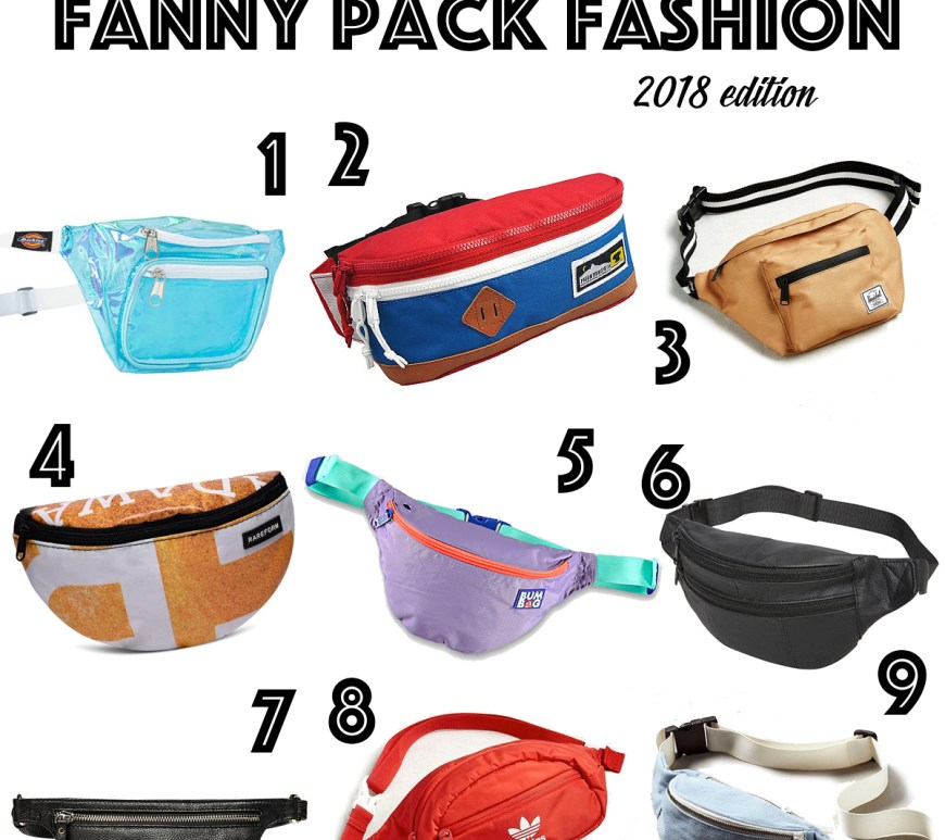 Fanny Pack Fashion 2018