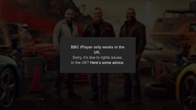 BBC iPlayer Geoblocked in USA, Canada, Australia