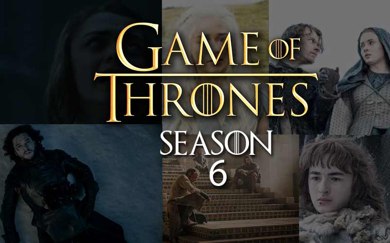 Watch Game of Thrones Season 6 online