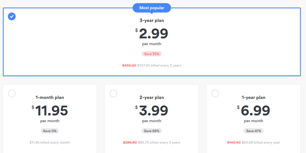 NordVPN Payment and Pricing