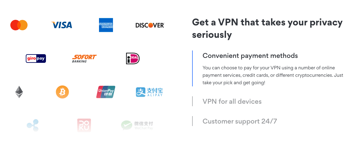 Payment NordVPN