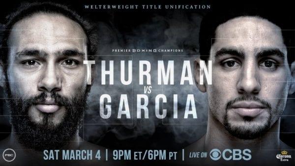 How to Watch Thurman vs Garcia Free Live Stream?