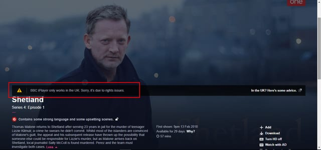 BBC Error