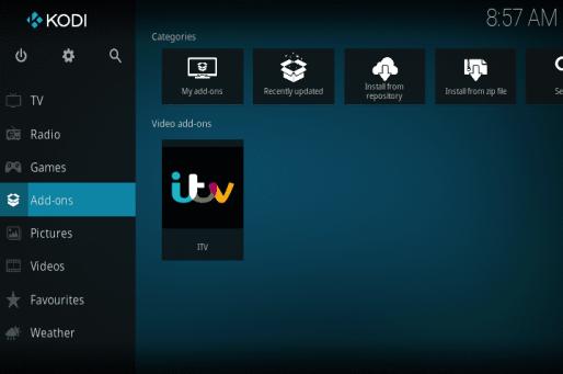 How to Install ITV on Kodi - Simple Steps - The VPN Guru