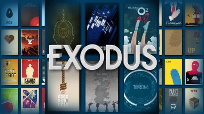 exodus on kodi not working