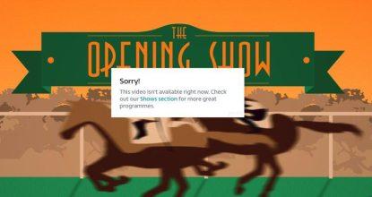 ITV Horse Racing Error