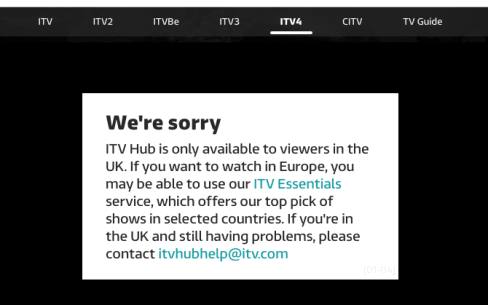 Tour de France ITV Stream Geoblocked outside UK