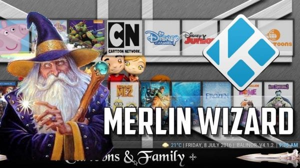 The Merlin Wizard - Best Wizard for Kodi