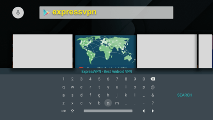 Play Store Search ExpressVPN