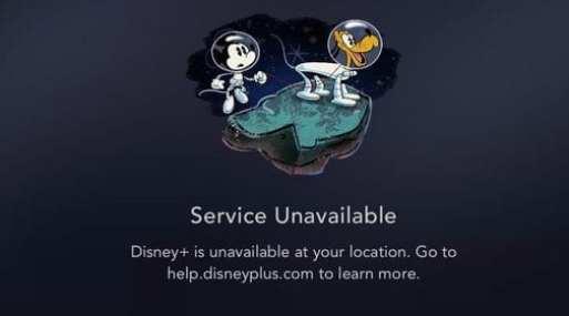 Disney Error Smart TV