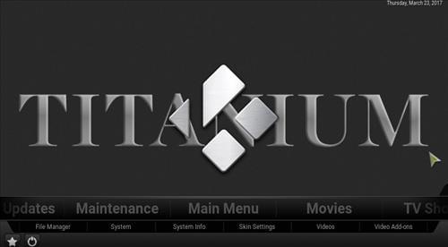 kodi install titanium
