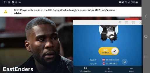 UK server