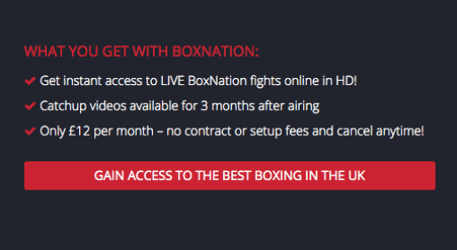 BoxNation Subscription