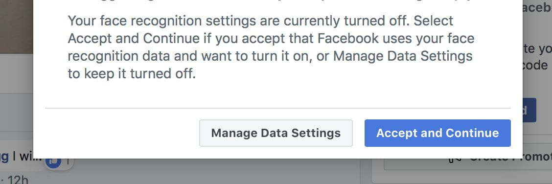Facebook's Accept and Continue Design