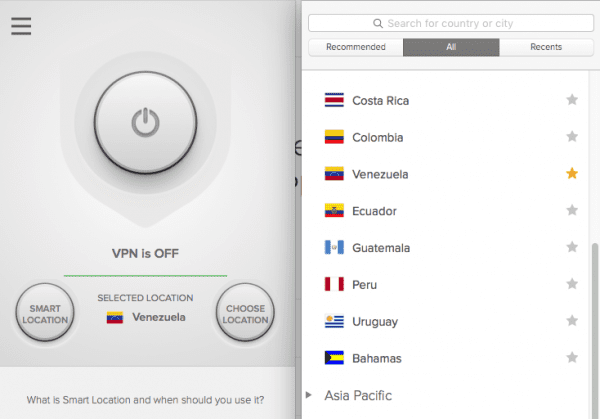 How to Connect to a VPN Server in Venezuela