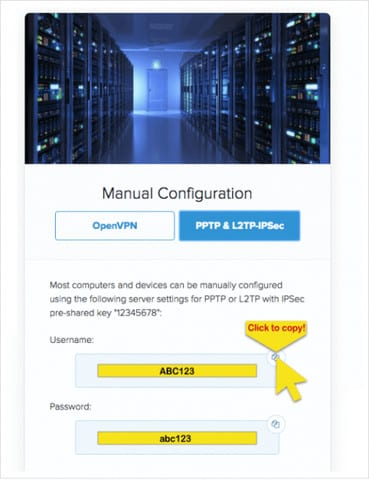 Manual-Configuration