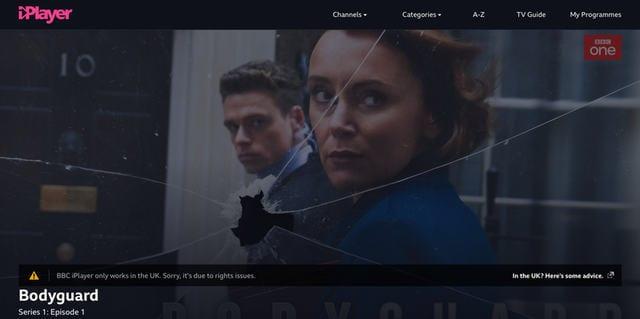 BBC iPlayer Geo-Error