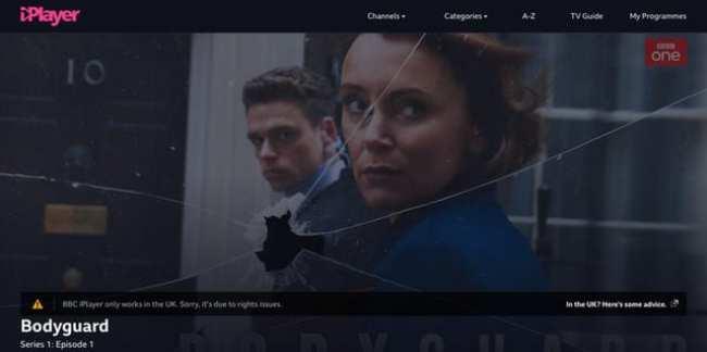 BBC iPlayer GeoBlocked