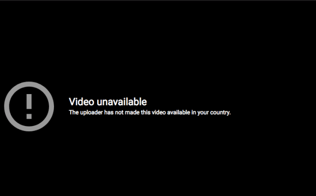 How to Fix The Uploader Has Not Made This Video Available in Your Country YouTube Error