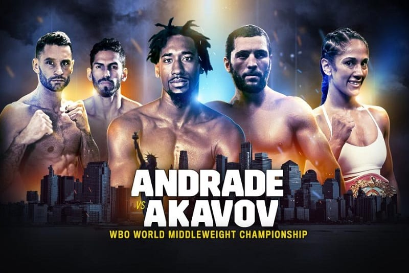 How to Watch Andrade vs. Akavov Live Online