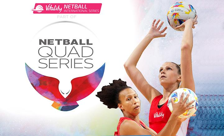Stream the 6th Netball Quad Series Live Online