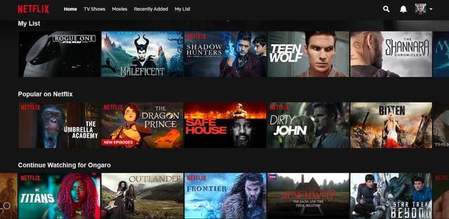 American Netflix with SurfShark