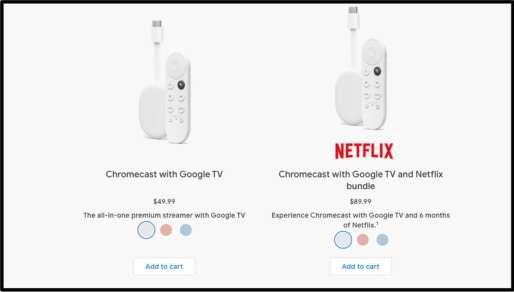 Chromecast Bundle Netflix