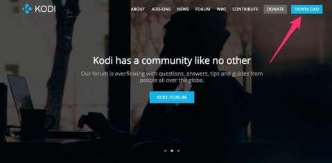 Kodi WebPage
