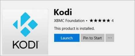 Launch Kodi Installation