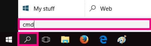 Ping 1 on Windows