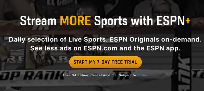 ESPN+ Subscription